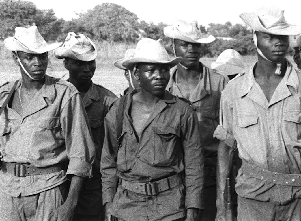 Soldats africains époque coloniale